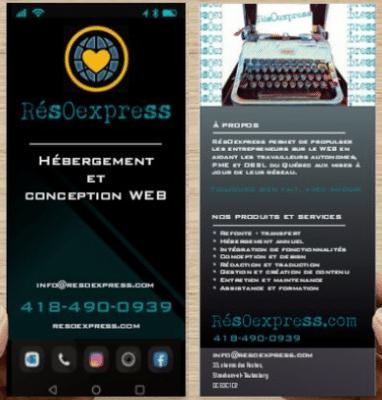 RésOexpress - pamphlet